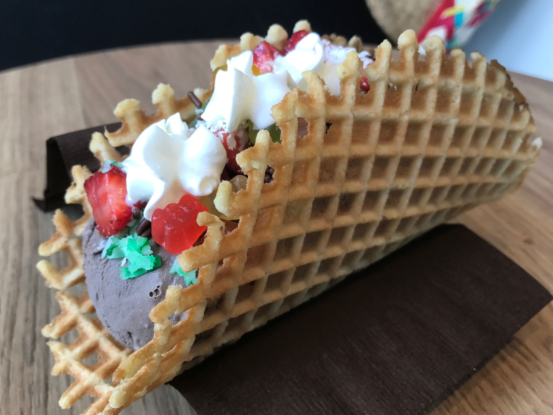 Cele Te Cinco De Mayo With Ice Cream Tacos